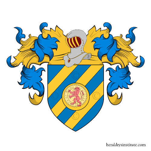 Coat of Arms of family Bazzurri o Bazurro