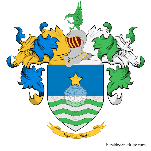 Coat of Arms of family Marello o Marelli