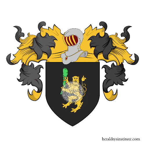 Coat of arms of family Mariano