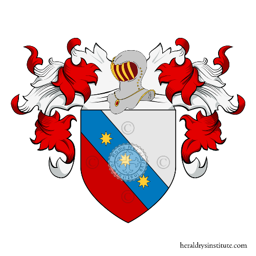 Coat of arms of family Mariani