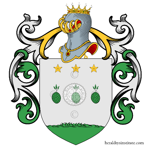 Coat of Arms of family Pinelli (Bologna)