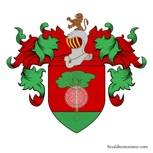 Coat of Arms of family Pinelli (Piemonte)