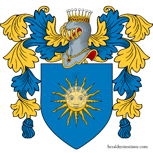 Coat of arms of family Solito