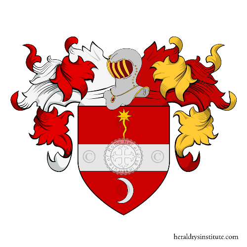 Coat of Arms of family Franceschini (Fossombrone)