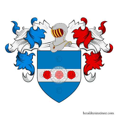 Coat of Arms of family Franceschini (Udine)