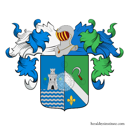Coat of Arms of family Franceschini