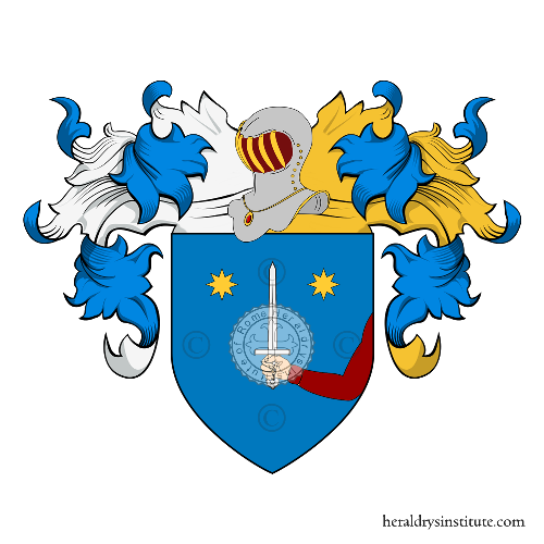 Coat of Arms of family Franceschini (Siena)