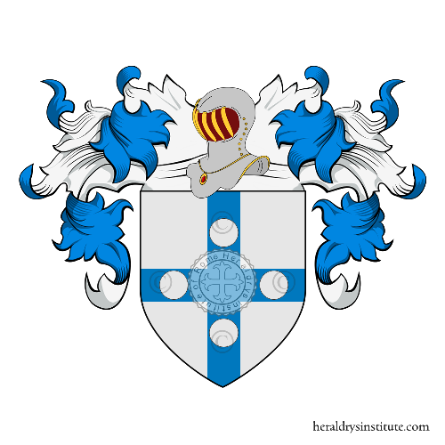 Coat of Arms of family Franceschini (Amsterdam)
