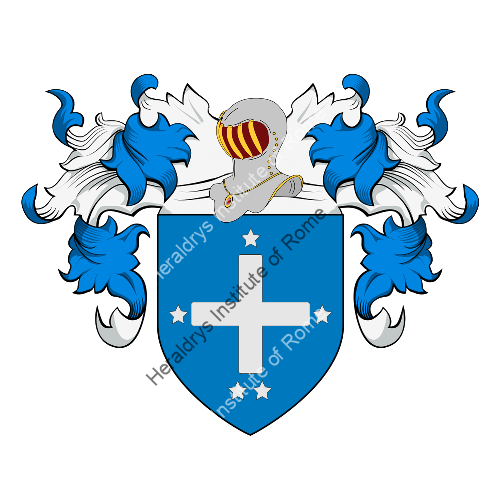 Coat of Arms of family Quinti (Cesena)