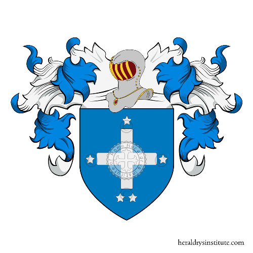Coat of arms of family Quinti