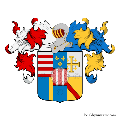 Coat of Arms of family Angio