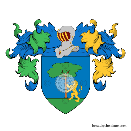 Coat of Arms of family Carfora