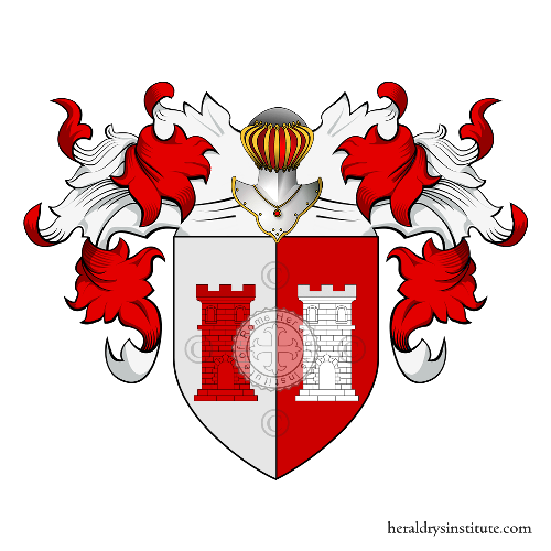 Coat of Arms of family Susa (Piemonte)