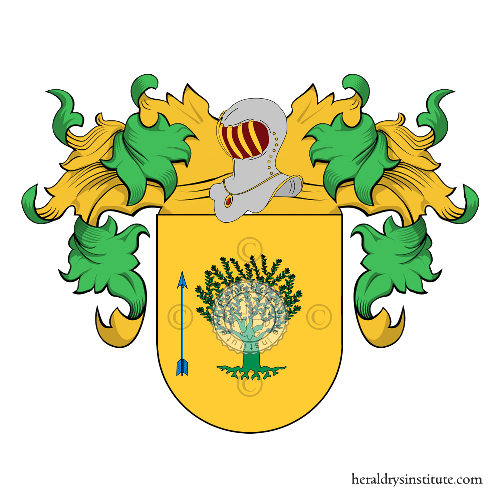 Coat of Arms of family Borjas