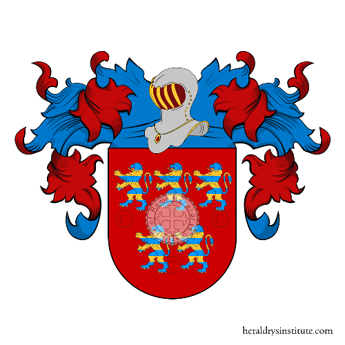 Coat of Arms of family Bastos