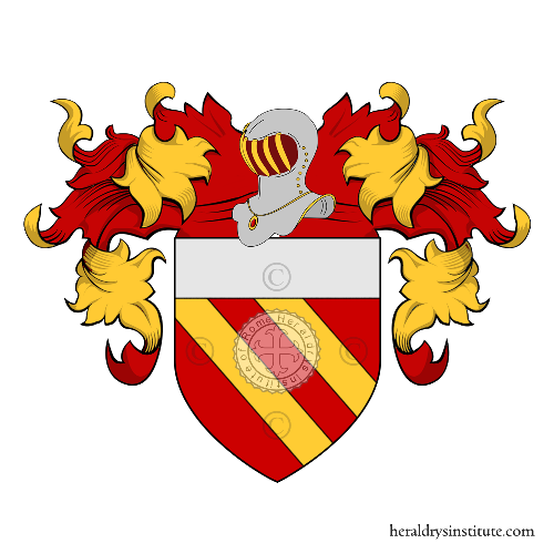 Coat of Arms of family Melo o Melo-Lupi (Venezia)