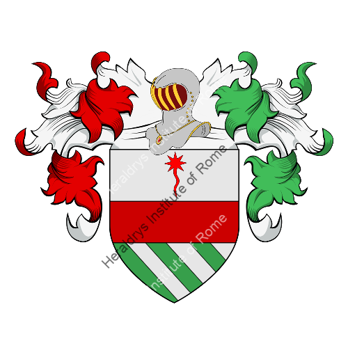 Coat of Arms of family Guerino