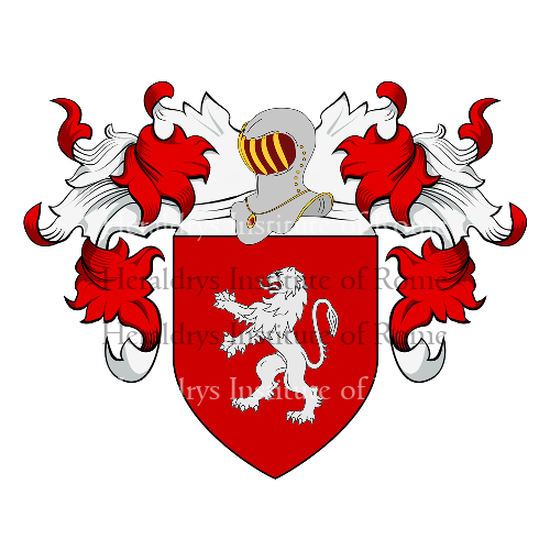 Coat of Arms of family Gentile (Barletta, Bitonto)