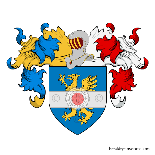 Coat of Arms of family Gentile (Aquila)