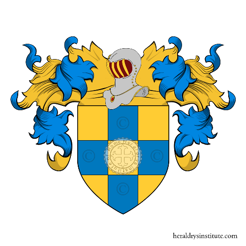 Coat of Arms of family Gentile (Sicilia)