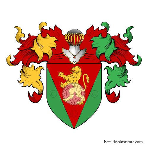 Coat of arms of family Gentile
