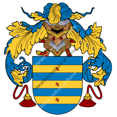 Coat of Arms of family Rabelo