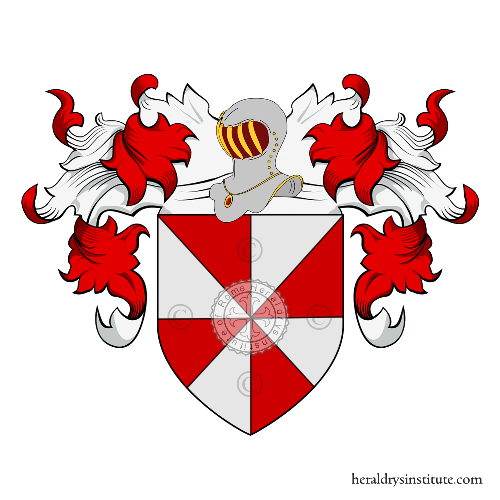 Coat of Arms of family Amori (Bretagne, Sicilie)