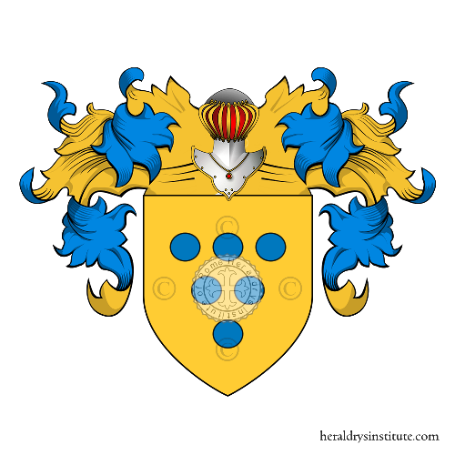Coat of Arms of family Cipriano