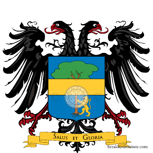 Coat of Arms of family Calò-Carducci (Bitonto)