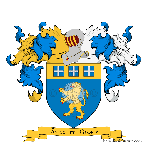 Coat of Arms of family Calò (Sicilia)