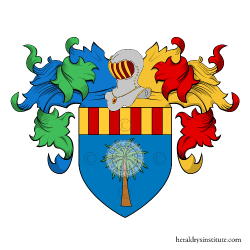 Coat of Arms of family Caro