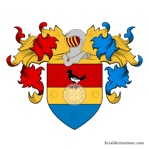 Coat of Arms of family Lucarini (Siena)