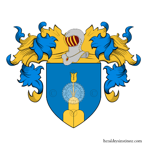 Coat of Arms of family Bazzani (Bologna)