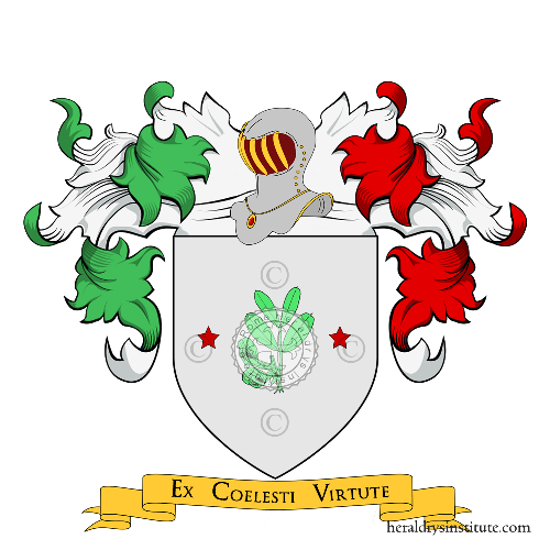 Coat of Arms of family Fagotto o Fagotti (Piemonte)
