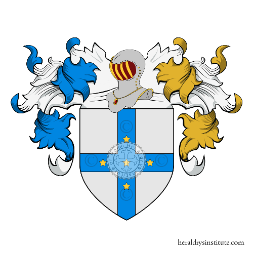 Coat of Arms of family Garbo (del)(Toscana)