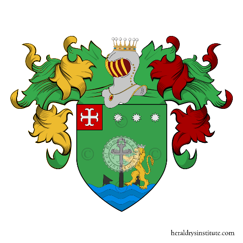 Coat of Arms of family Speranza (Campania)