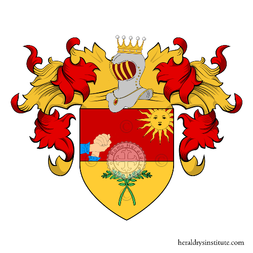 Coat of Arms of family Speranza (Lombardia)