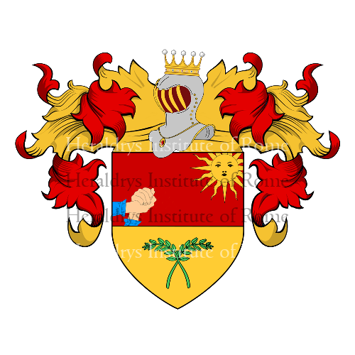 Coat of arms of family Speranza