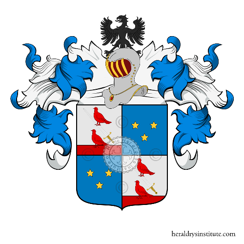 Coat of Arms of family Guerra (Padova)