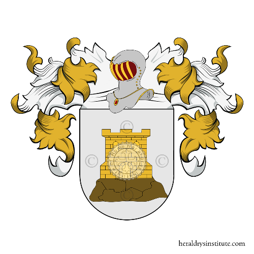Coat of Arms of family Guiral, Guirao, Guirarte y Guirall