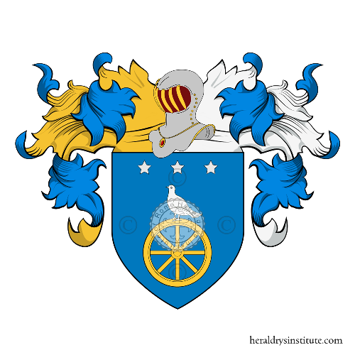 Coat of Arms of family Guiraldi o Guirao
