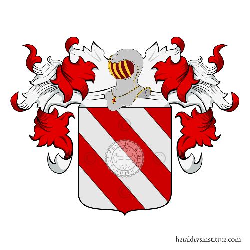 Coat of Arms of family Vena (Saluzzo, Moncalieri)