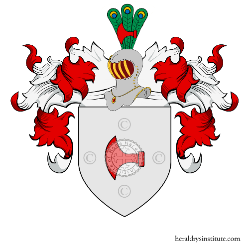 Coat of Arms of family Rossel et Rossel de Cercy