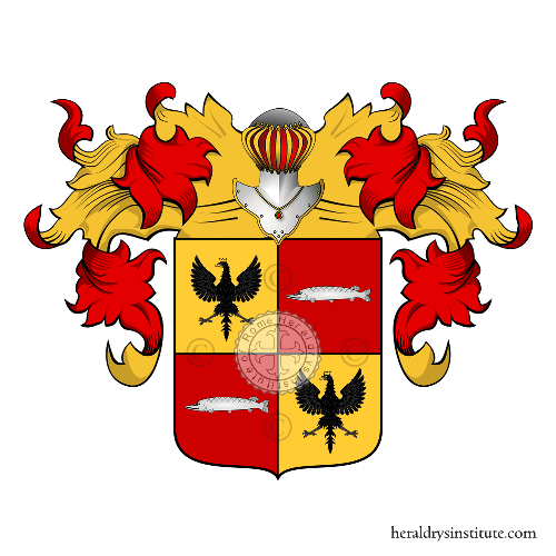 Coat of Arms of family Olgiati (Lombardia)