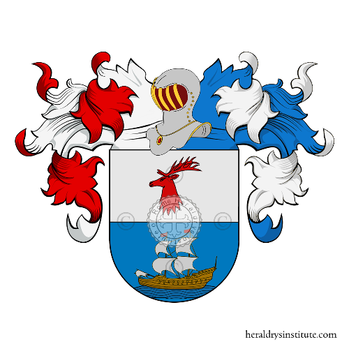 Coat of Arms of family Indaburu