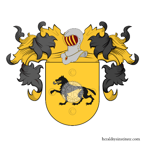 Coat of arms of family Machorro
