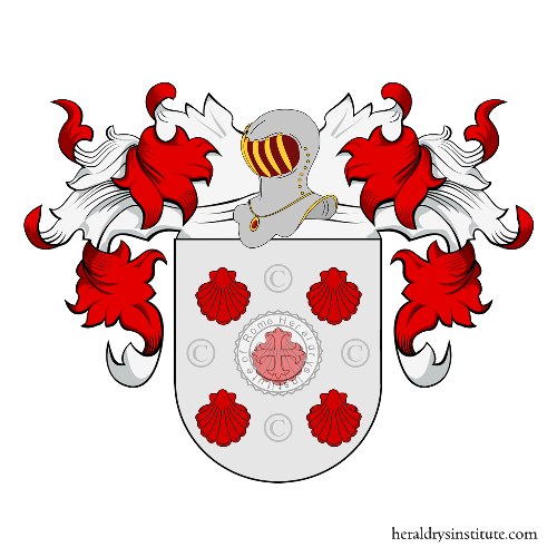 Coat of Arms of family Cañaveral  o Canaveral