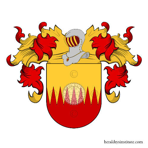 Coat of Arms of family Ortal