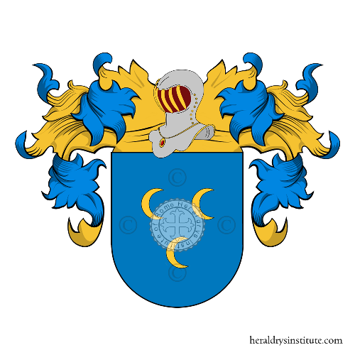 Coat of Arms of family Bove