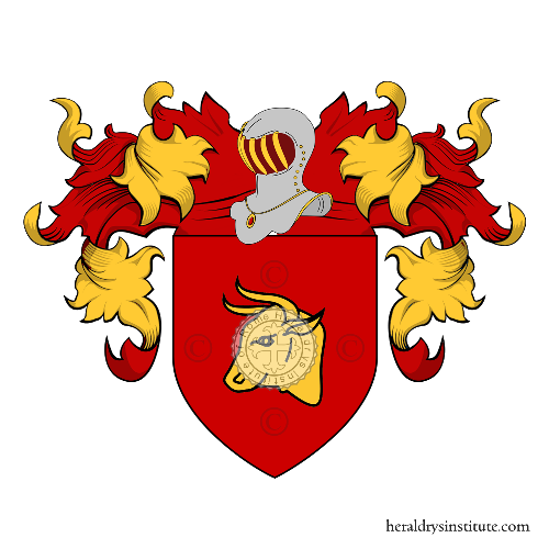 Coat of arms of family Bove (France)